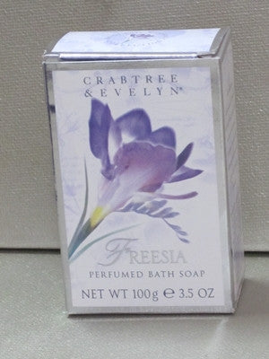 Crabtree & Evelyn Freesia Soap 3.5 oz - Discontinued Beauty Products LLC