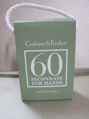 Crabtree & Evelyn Gardeners 60 Second Hand Repair .9 oz - Discontinued Beauty Products LLC