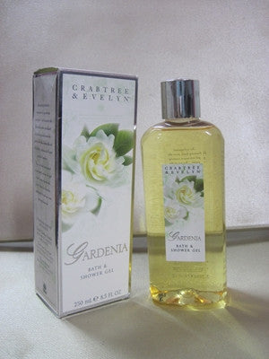 Crabtree & Evelyn Gardenia Bath and Body Wash 8.5 oz - Discontinued Beauty Products LLC