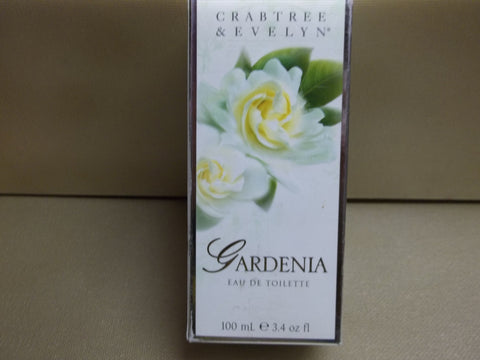 Crabtree & Evelyn Gardenia Eau De Toilette 3.4 oz - Discontinued Beauty Products LLC