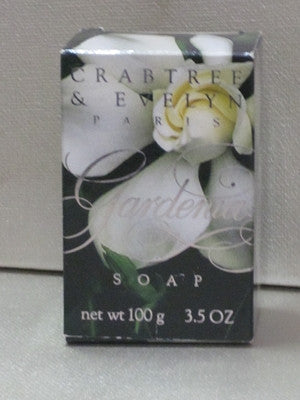 Crabtree & Evelyn Gardenia Soap 3.5 oz - Discontinued Beauty Products LLC
