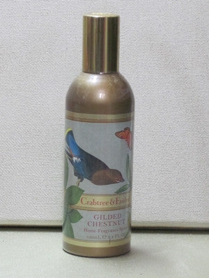 Crabtree & Evelyn Gilded Chestnut Home Fragrance Spray 3.4 oz. - Discontinued Beauty Products LLC