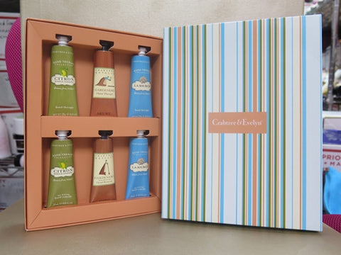 Crabtree & Evelyn Hand Therapy Gift Set Box - Discontinued Beauty Products LLC