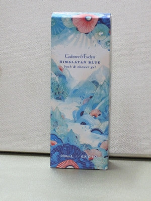 Crabtree & Evelyn Himalayan Blue Bath & Shower Gel 6.8 oz - Discontinued Beauty Products LLC