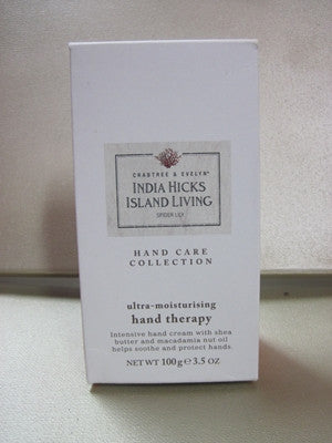 Crabtree & Evelyn India Hicks Island Living Spider Lily Hand Therapy 3.5 oz - Discontinued Beauty Products LLC