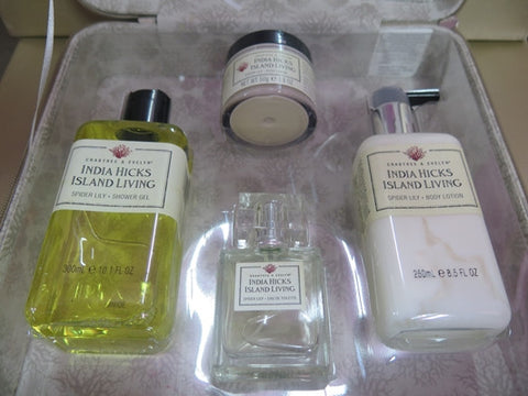 Crabtree & Evelyn India Hicks Island Living Spider Lily Gift Set - Discontinued Beauty Products LLC