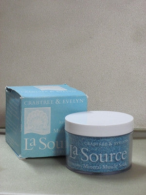 Crabtree & Evelyn La Source Revitalizing Mineral Muscle Soak 7 oz - Discontinued Beauty Products LLC