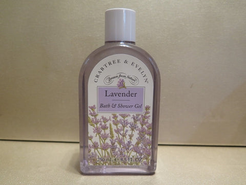 Crabtree & Evelyn Lavender Bath & Shower Gel 8.5 oz. - Discontinued Beauty Products LLC