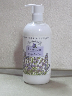 Crabtree & Evelyn Lavender Body Lotion 16.9 oz - Discontinued Beauty Products LLC