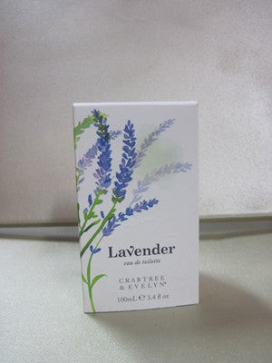 Crabtree & Evelyn Lavender Eau De Toilette 3.4 oz - Discontinued Beauty Products LLC