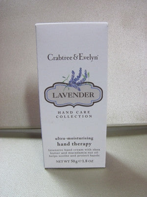 Crabtree & Evelyn Lavender Hand Therapy 1.8 oz - Discontinued Beauty Products LLC