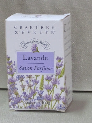 Crabtree & Evelyn Lavender Soap 3.5 oz - Discontinued Beauty Products LLC