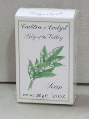 Crabtree & Evelyn Lily of the Valley Soap 3.5 oz - Discontinued Beauty Products LLC