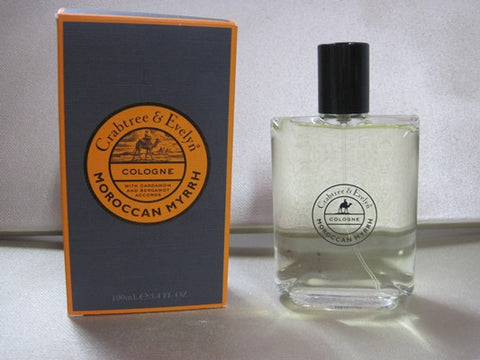 Crabtree & Evelyn Moroccan Myrrh Cologne 3.4 oz - Discontinued Beauty Products LLC
