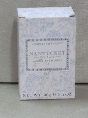 Crabtree & Evelyn Nantucket Briar Soap 3.5 oz - Discontinued Beauty Products LLC