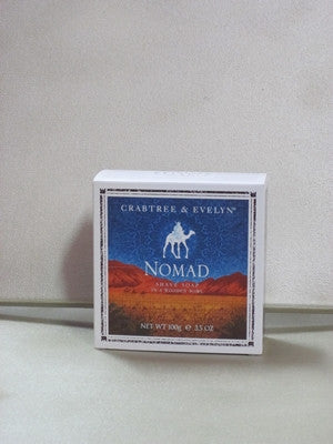 Crabtree & Evelyn Nomad Shave Soap in a Wooden Bowl 3.5 oz - Discontinued Beauty Products LLC