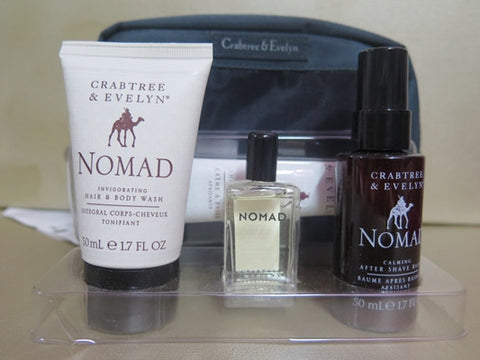Crabtree & Evelyn Nomad Travel Bag Gift Set