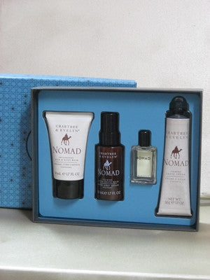 Crabtree & Evelyn Nomad Travel Gift Set - Discontinued Beauty Products LLC