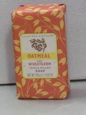 Crabtree & Evelyn Oatmeal and Wheatgerm Soap 5.57 oz. - Discontinued Beauty Products LLC