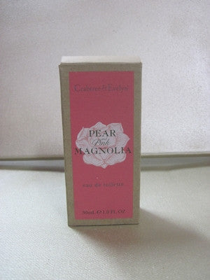 Crabtree & Evelyn Pear and Pink Magnolia Eau De Toilette 1 oz