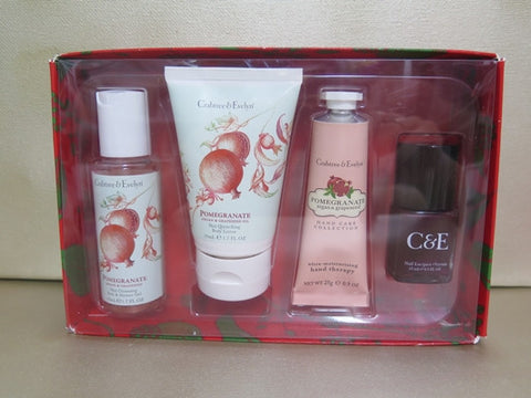 Crabtree & Evelyn Pomegranate, Argan & Grapeseed Gift Set