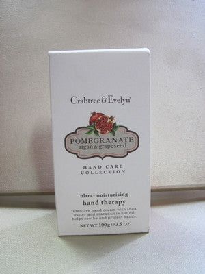 Crabtree & Evelyn Pomegranate  Hand Therapy 3.5 oz