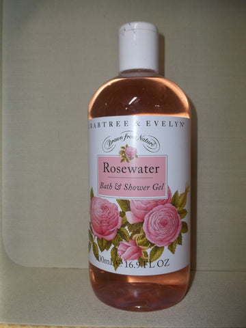 Crabtree & Evelyn Rosewater Bath & Shower Gel 16.9oz