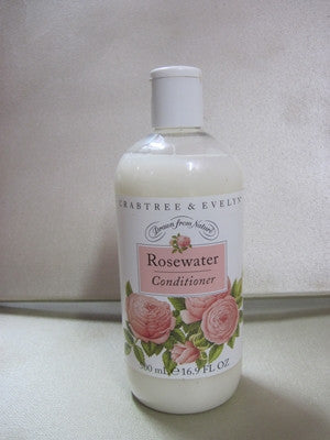 Crabtree & Evelyn Rosewater Conditioner 16.9 oz