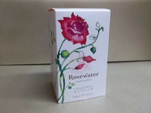 Crabtree & Evelyn Rosewater Eau de Toilette 3.4 oz