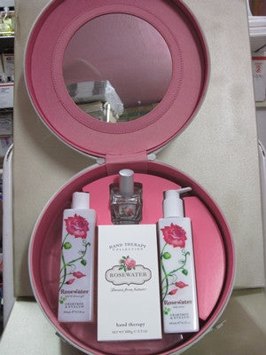 Crabtree & Evelyn Rosewater Hat Box Gift Set