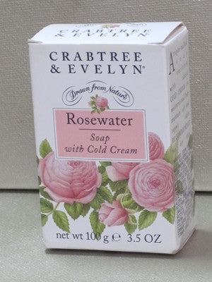 Crabtree Amp Evelyn Rosewater Soap 3 5 Oz Discontinued Beauty Products Llc