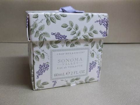 Crabtree & Evelyn Sonoma Valley Eau De Toilette 2 oz.