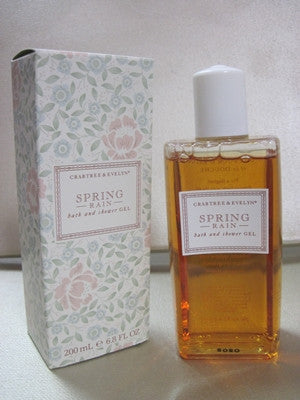 Crabtree & Evelyn Spring Hill Bath and Shower Gel 6.8 oz
