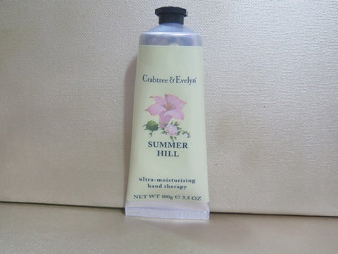 Crabtree & Evelyn Summer Hill Hand Therapy 3.5 oz.