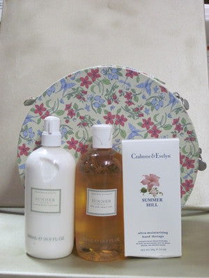 Crabtree & Evelyn Summer Hill Hat Box