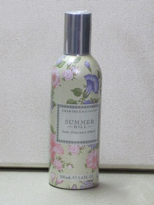 Crabtree & Evelyn Summer Hill Home Fragrance Spray 3.4 oz.