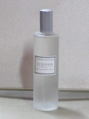 Crabtree & Evelyn Summer Hill Hydrating Body Mist 3.4 oz - Discontinued Beauty Products LLC