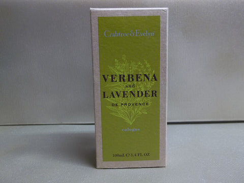 Crabtree & Evelyn Verbena and Lavender De Provence Cologne 3.4 oz.