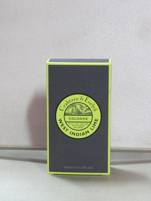 Crabtree & Evelyn West Indian Lime Cologne 3.4 oz
