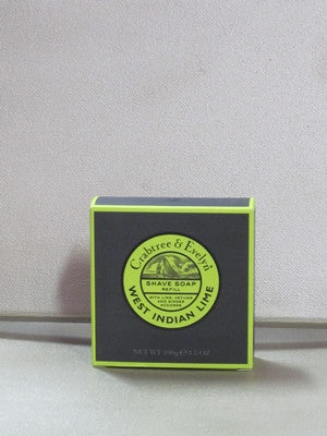 Crabtree & Evelyn West Indian Lime Shave Soap Refill 3.5 oz