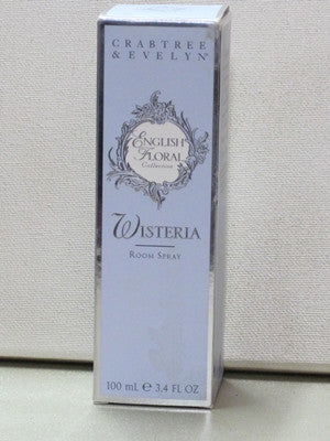 Crabtree & Evelyn Wisteria Room Spray 3.4 oz - Discontinued Beauty Products LLC