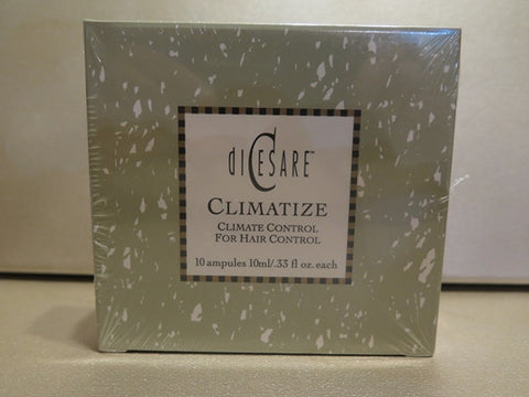 Dicesare Climitize Climate Control for Hair 10 Ampules .33 oz. each Dicesare