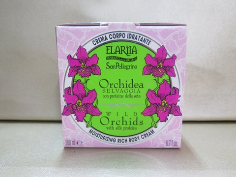 Elariia Wild Orchids Moisturizing Rich Body Cream 6.7 oz. - Discontinued Beauty Products LLC