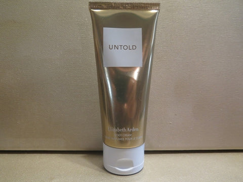 Elizabeth Arden Untold Body Cream 3.3 oz. - Discontinued Beauty Products LLC