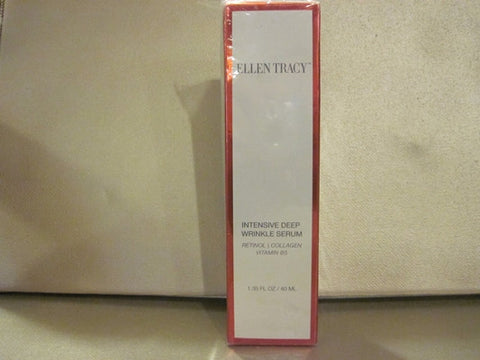Ellen Tracy Intensive Deep Wrinkle Serum 1.35 oz. - Discontinued Beauty Products LLC