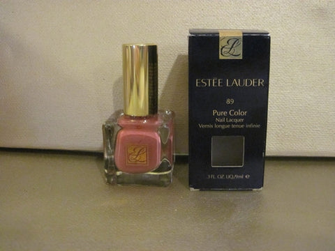 Estee Lauder Pure Color Nail Lacquer #89 Antique Rose .3 oz. - Discontinued Beauty Products LLC
