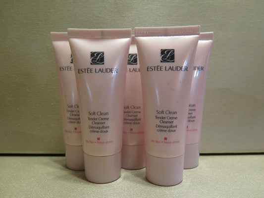 Estee Lauder Soft Clean Tender Cream Cleanser For Dry Skin 1 Oz Each Discontinued Beauty