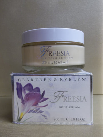Crabtree & Evelyn Freesia Body Cream 6.8 oz. - Discontinued Beauty Products LLC