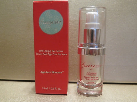 Freeze 24-7 Anti-Aging Eye Serum 0.5 oz. Misc. - Discontinued Beauty Products LLC