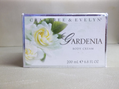 Crabtree & Evelyn Gardenia Body Cream 6.8 oz. - Discontinued Beauty Products LLC